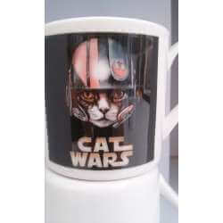 TAZA DE CAFE  CATS WARS