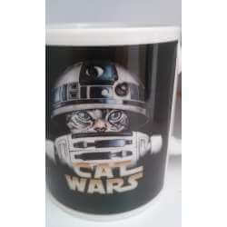 TAZA  CATS WARS R2 D2