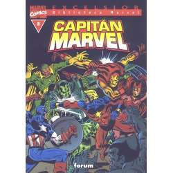 Biblioteca Marvel: Capitán...