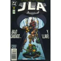 JLA. La Liga de la Justicia...