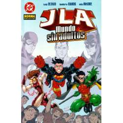 JLA  mundo sin adultos (2003)