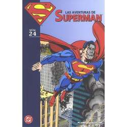 LAS AVENTURAS DE SUPERMAN 24