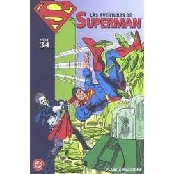 LAS AVENTURAS DE SUPERMAN 34